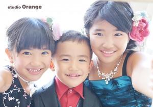 奈良市写真館 七五三 ドレス撮影