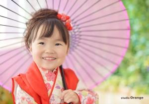 七五三 お誕生日 奈良市写真館